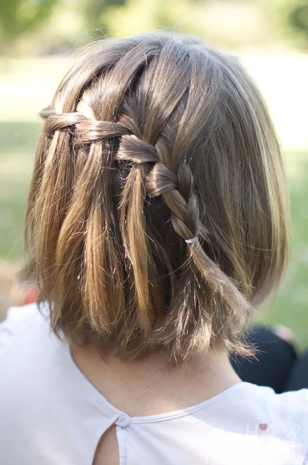 Косички на короткие волосы: фото 2