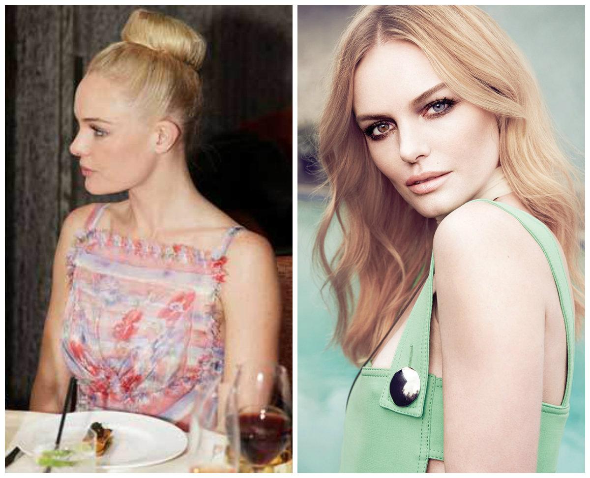 Распущенные волосы или сложная прическа: Кейт Босуорт
