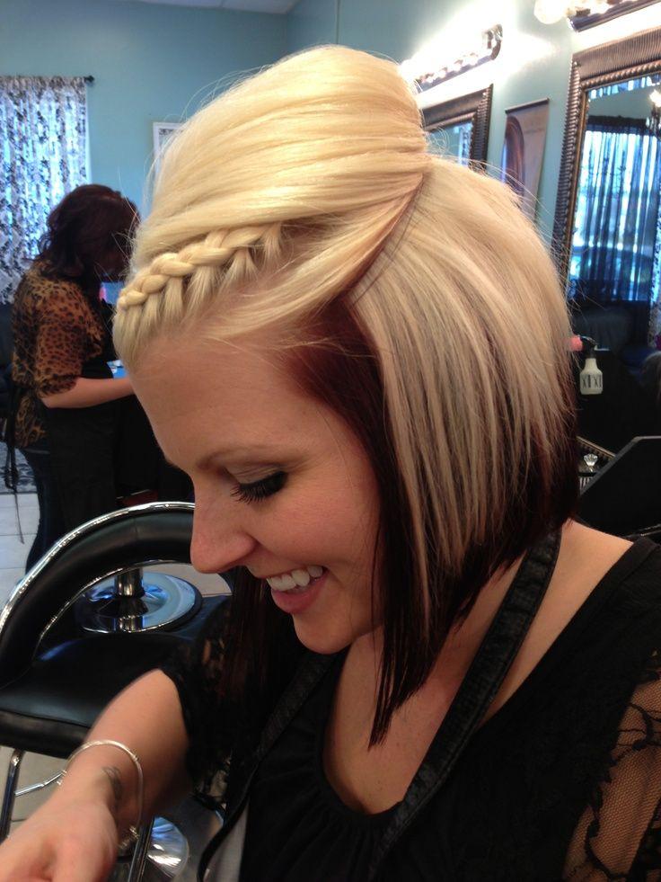 Косички на короткие волосы: фото 5