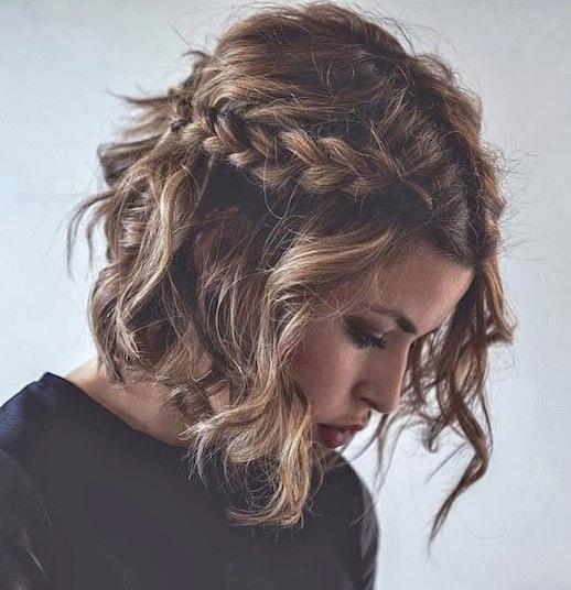 Косички на короткие волосы: фото 7