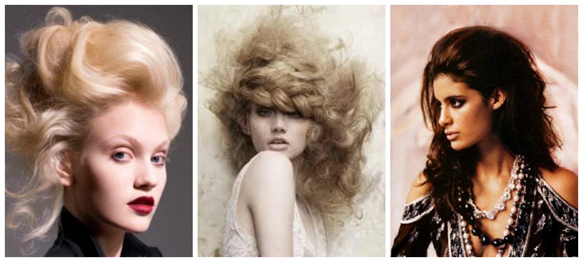 Укладка волос: начес
