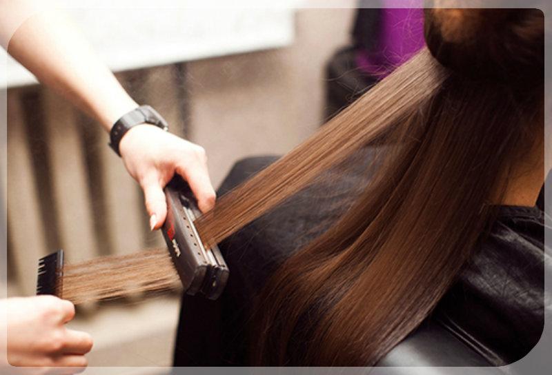 Кератиновое выпрямление волос: фото 1
