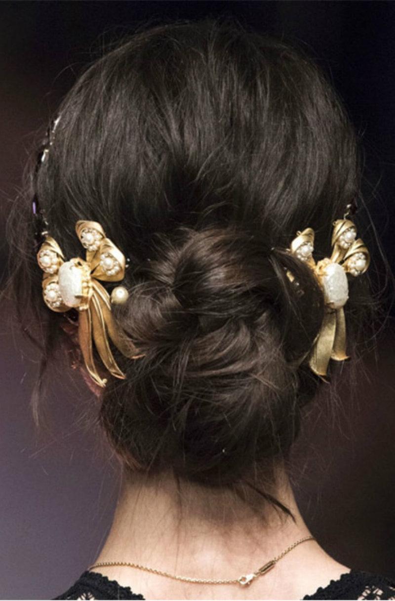 Новогодние аксессуары для волос: фото 2
