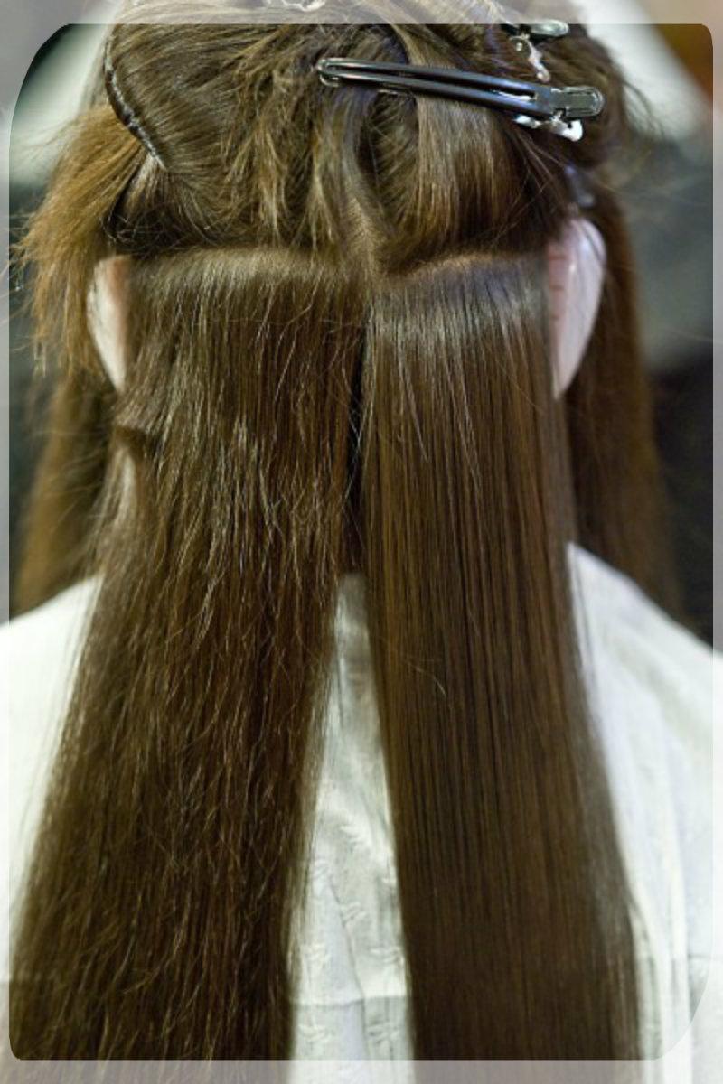 Перманентное выпрямление волос: фото 2