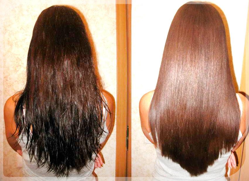 Кератиновое выпрямление волос: фото 2
