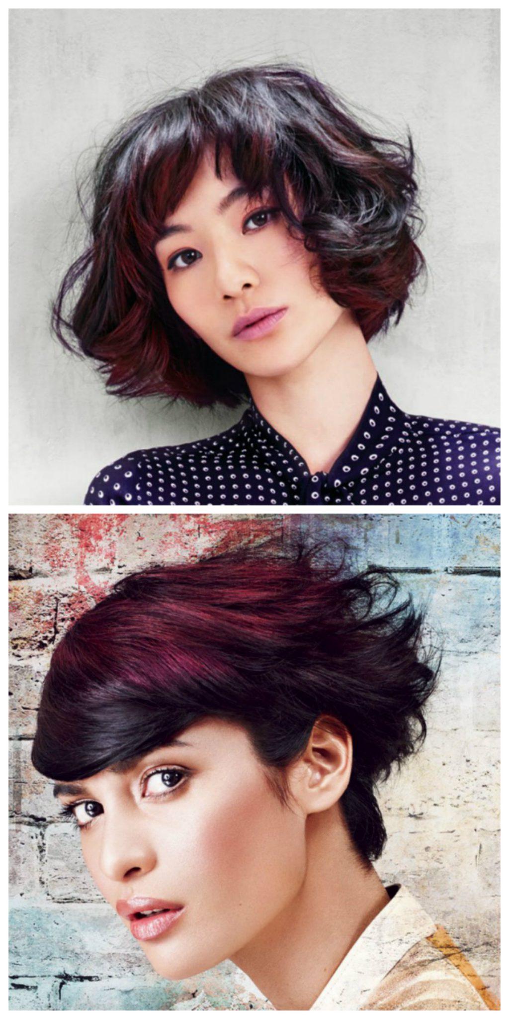 как быстро поменять цвет волос на фото онлайн