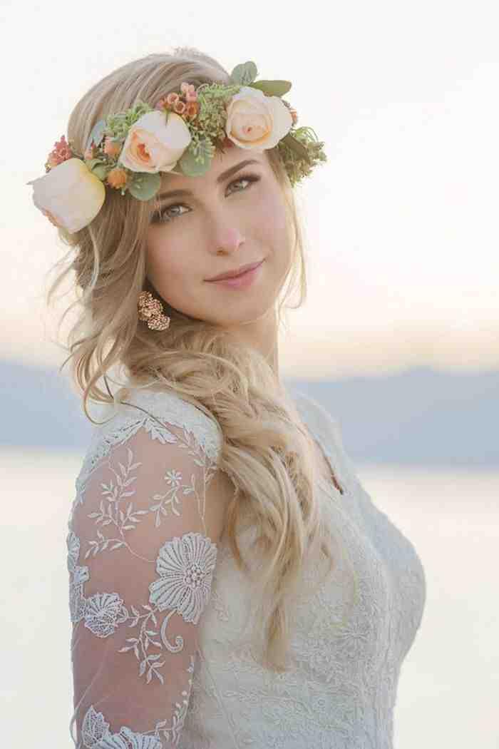 Свадебная прическа 2016: фото 15