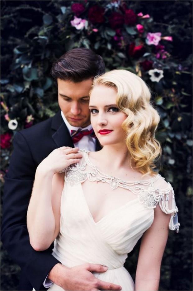 Свадебная прическа 2016: фото 34
