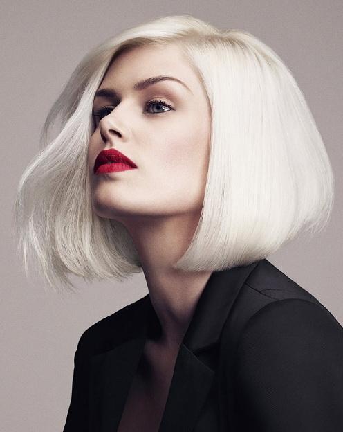 каре для прямых волос
