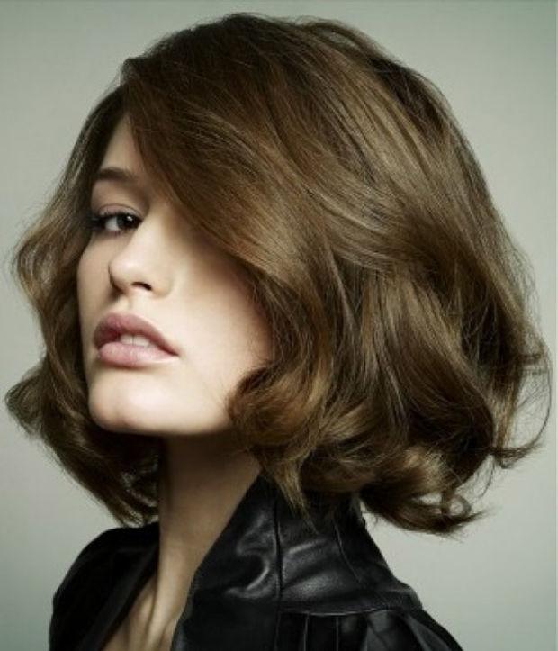 Структурированная стрижка на длинные волосы