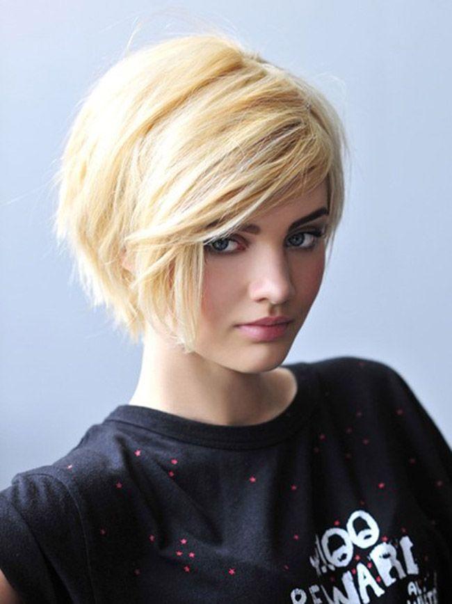 Женские стрижки для светлых волос