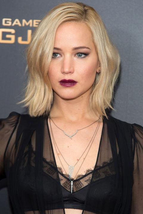 17 идеальных стрижек для блондинок: Дженифер Лоуренс