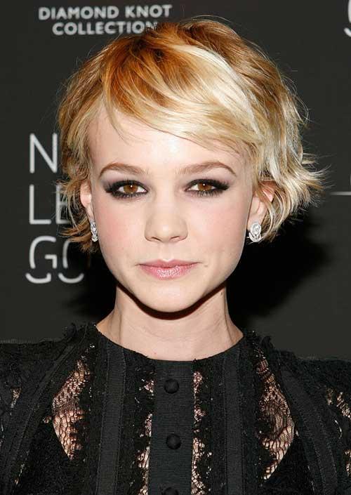 17 идеальных стрижек для блондинок: Кэри Маллиган