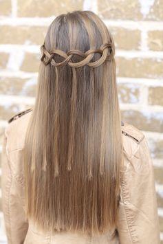 Прически на полураспущенные волосы: фото 6