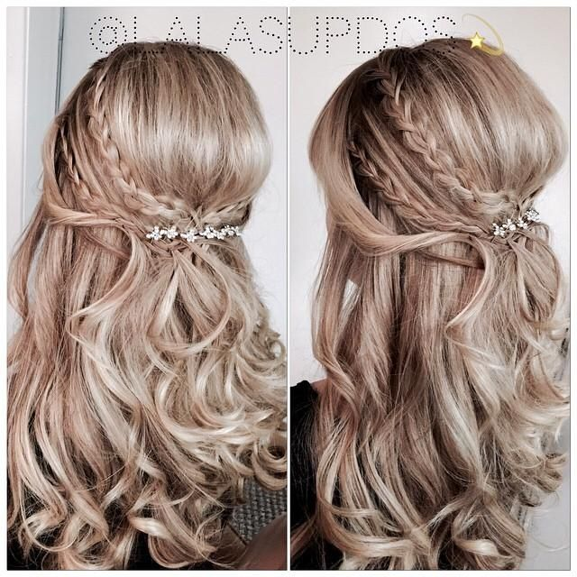 Try 24 Half Up Half Down Prom Hairstyles  LoveHairStylescom