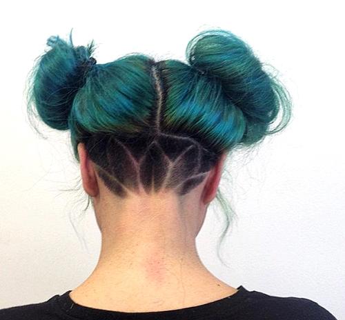 прически с помощью мелков для волос: фото 45