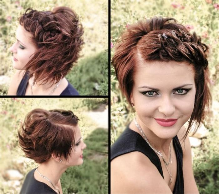 укладки для коротких волос: фото: 7.2