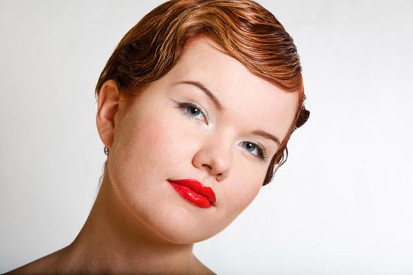 укладки для коротких волос: фото: 8