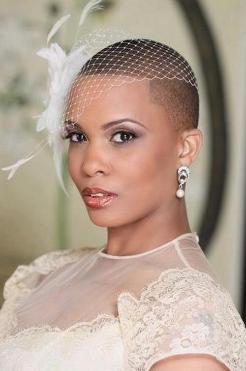 Лучшие свадебные прически на короткие волосы: фото 14