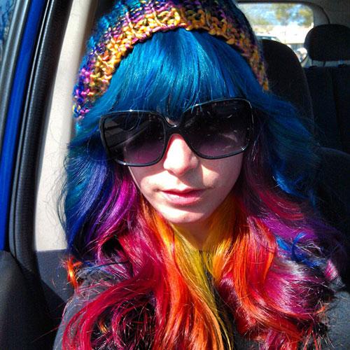 прически с помощью мелков для волос: фото 59