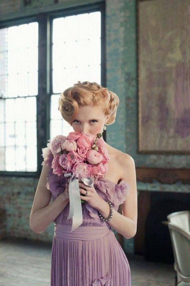 Лучшие свадебные прически на короткие волосы: фото 9