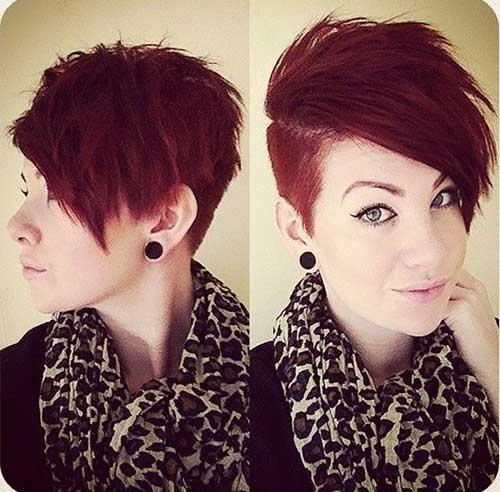 укладки для коротких волос: фото: 38