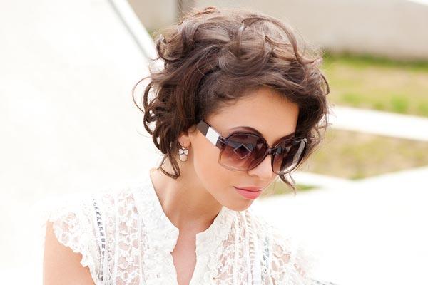 укладки для коротких волос: фото: 42