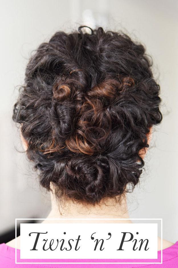 Спиральки из волос