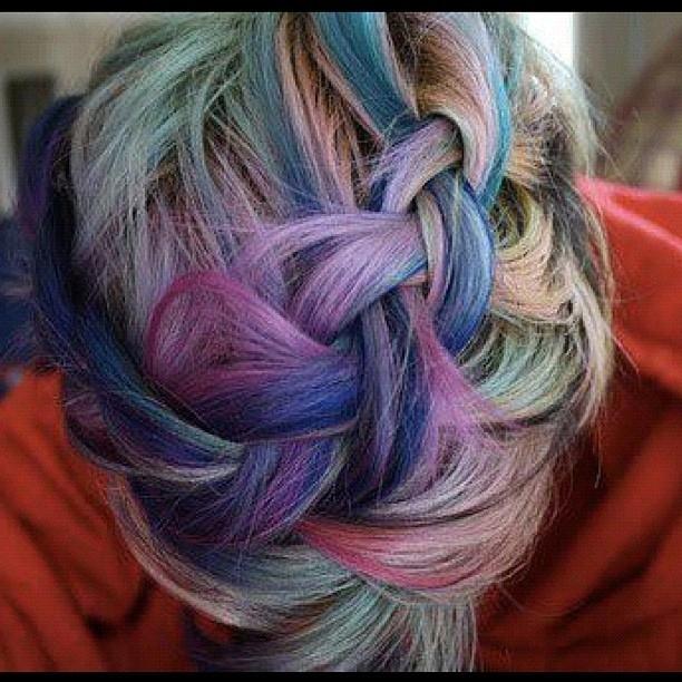 прически с помощью мелков для волос: фото 73