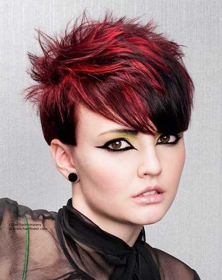прически с помощью мелков для волос: фото 80