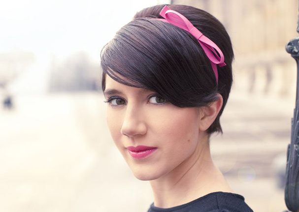 укладки для коротких волос: фото: 35