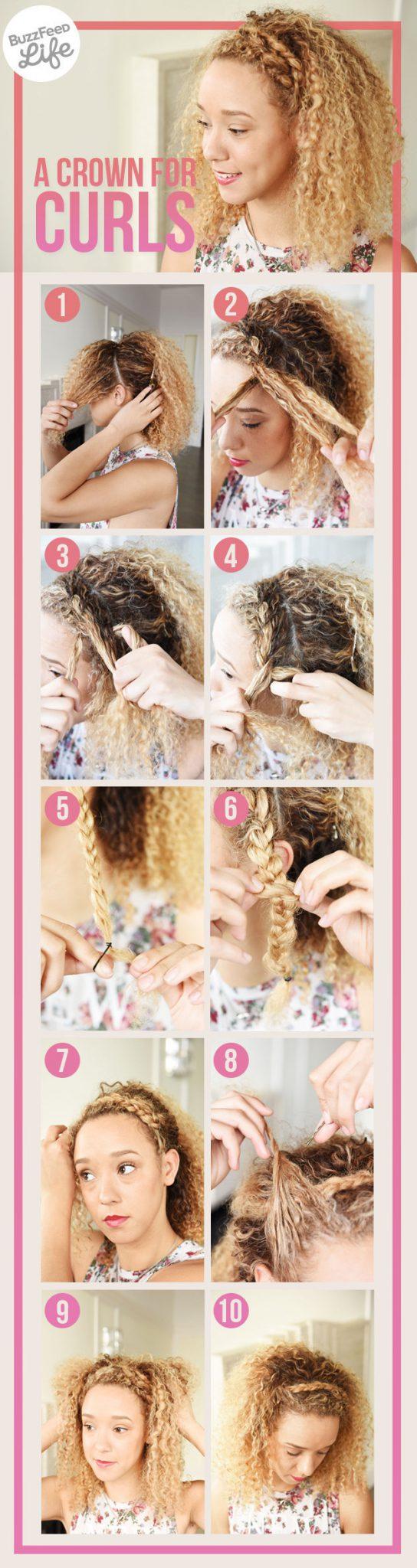 ободок из волос