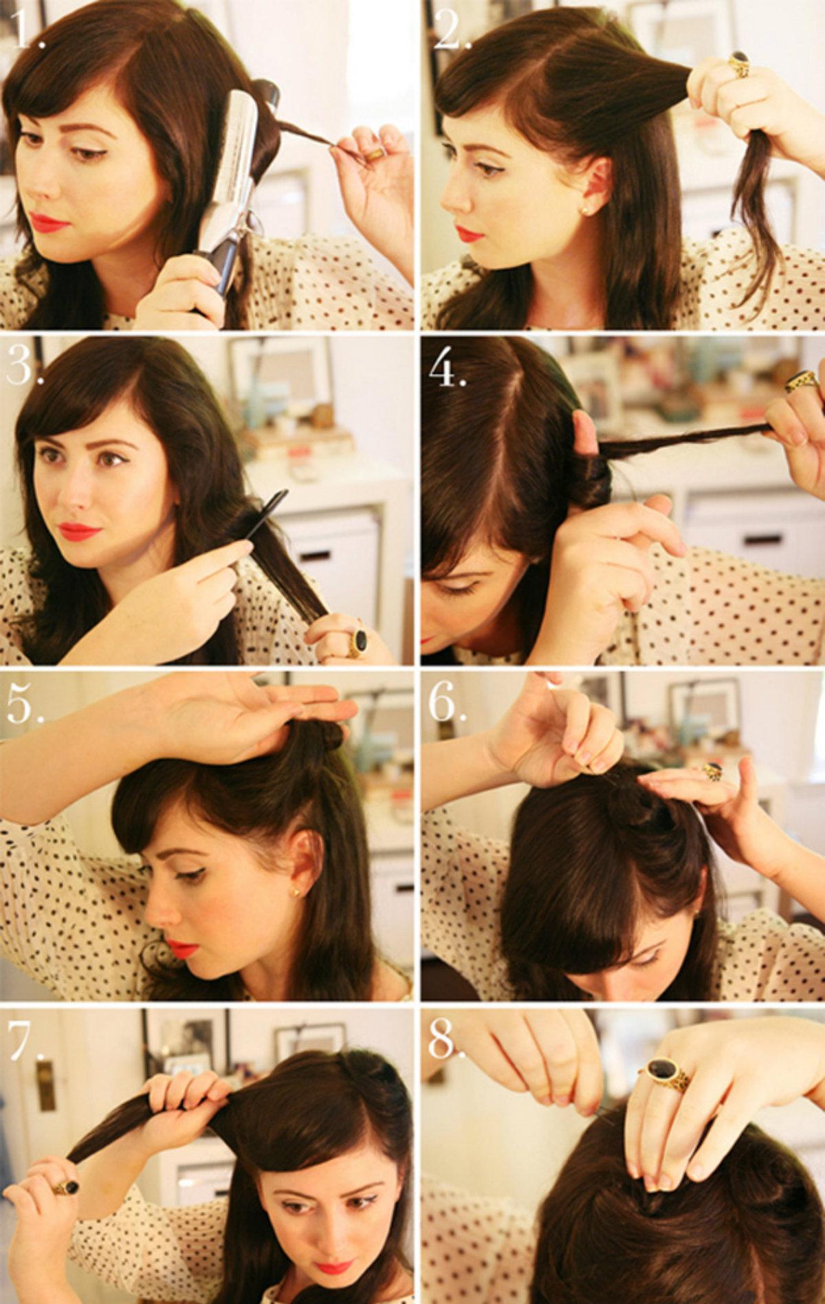 Японские причёски для девушек своими руками