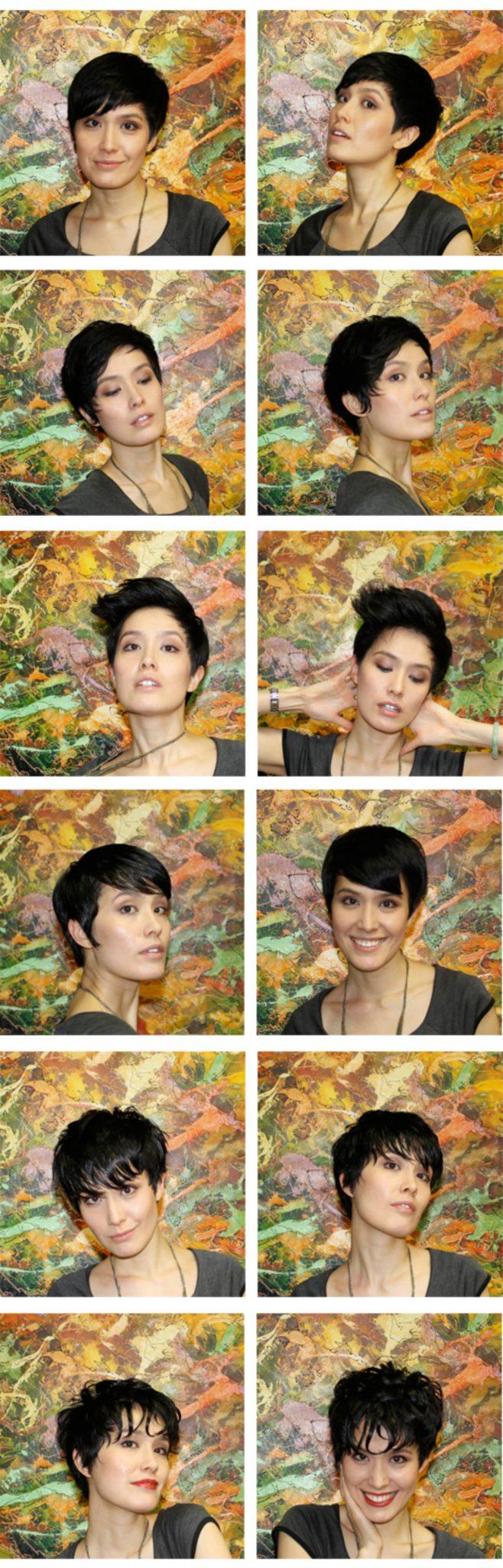 укладки для коротких волос:: варианты
