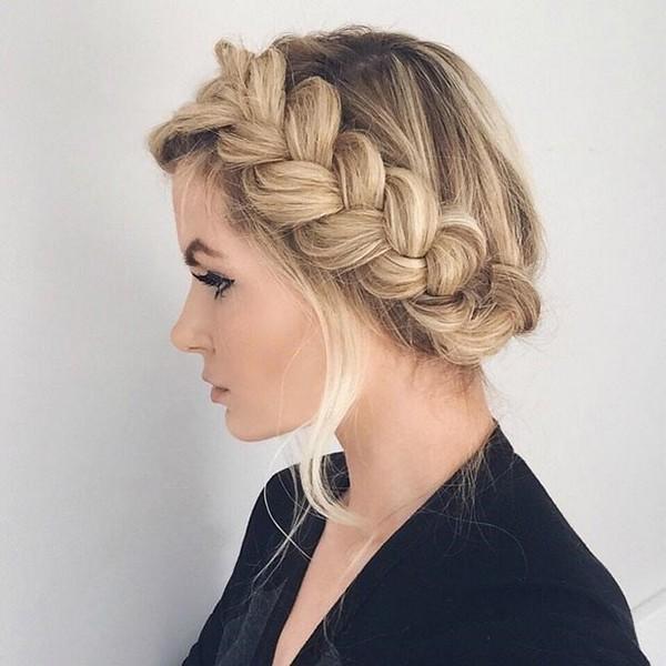 Прически хвост коса 78