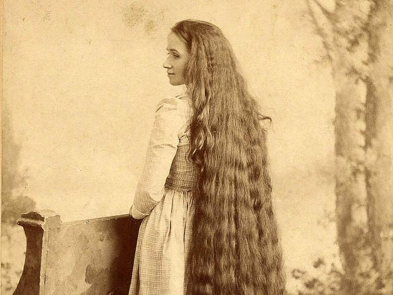 Волосы наших бабушек