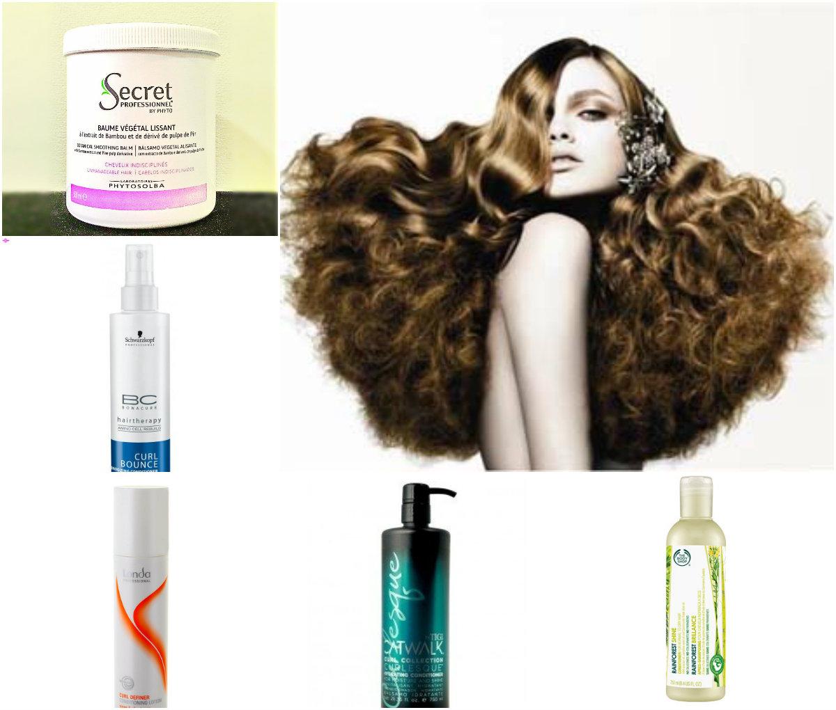 Средства для вьющихся волос: фото 2