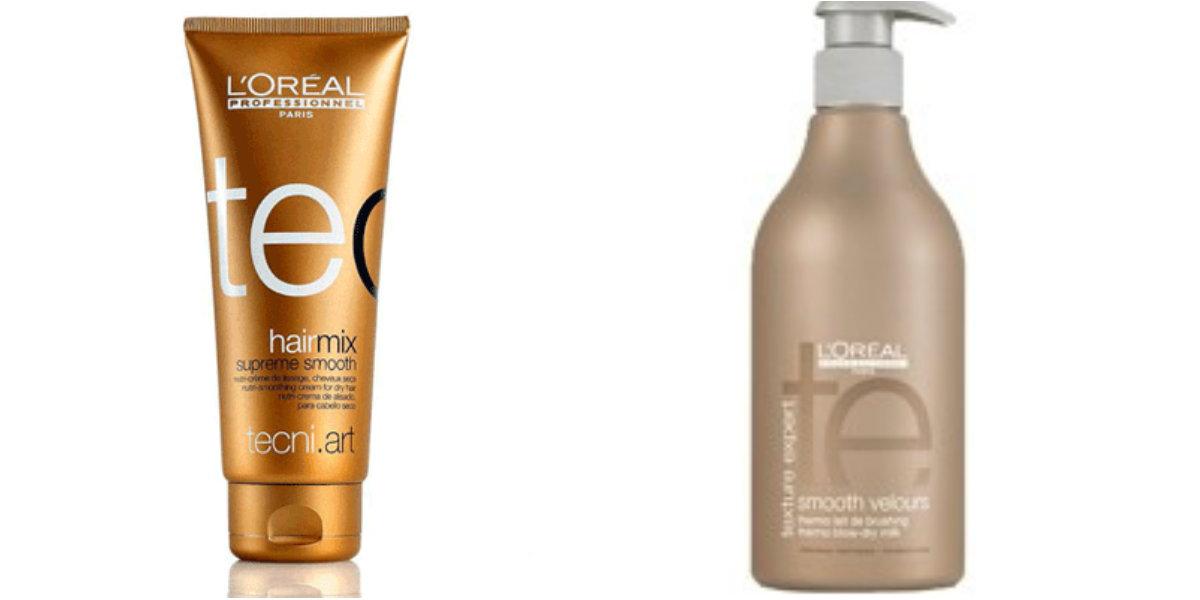 разглаживающие крема для волос