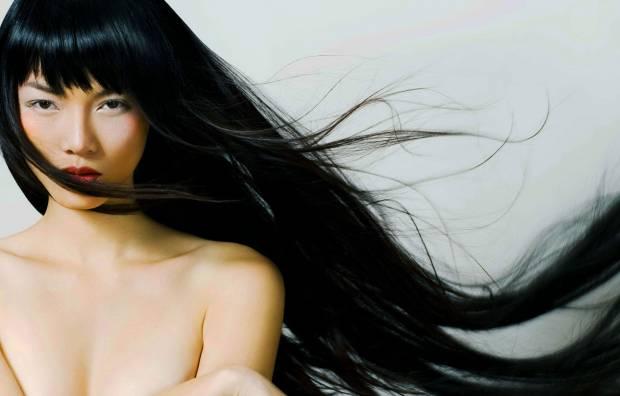 Азиатский тип волос