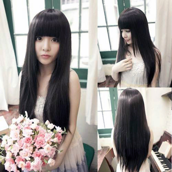 азиатский тип волос фото 2