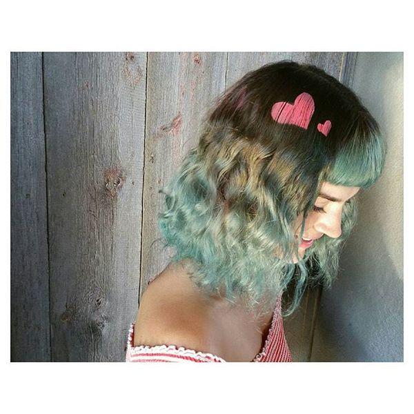 рисунки на волосах: фото 3