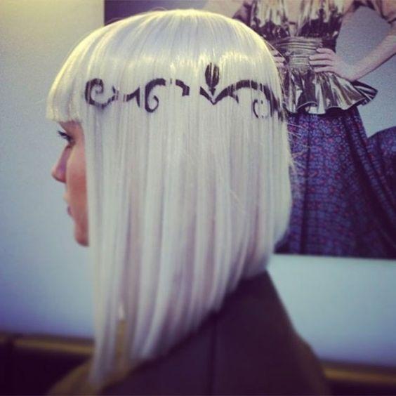 рисунки на волосах: фото 6