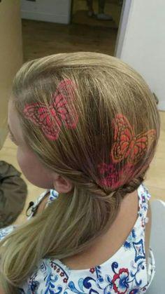 рисунки на волосах: фото 8