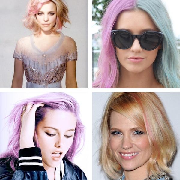 Цветные волосы знаменитостей: фото 7