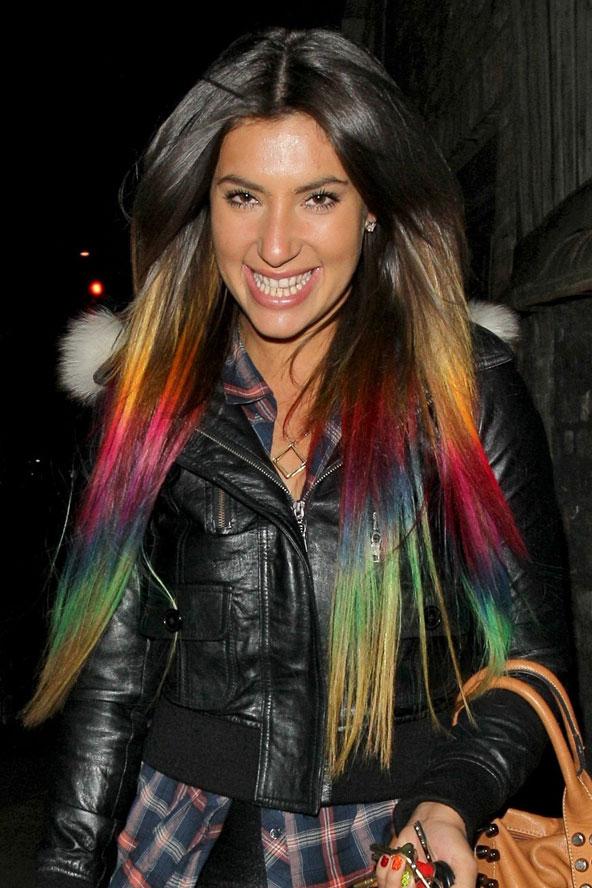 Цветные волосы знаменитостей: фото 32