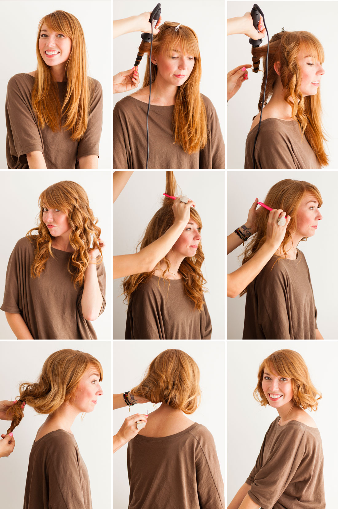 Из длинных волос короткие фото 1