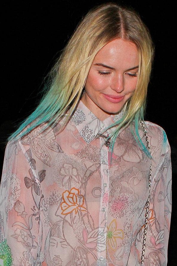 Цветные волосы знаменитостей: фото 37
