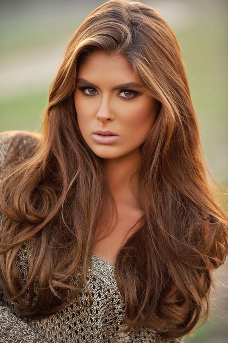 Натуральный цвет волос фото 2