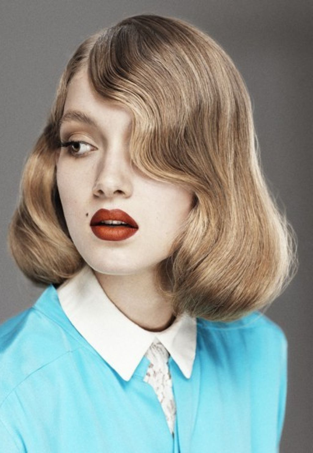 Прическа 40-х для коротких волос фото 2