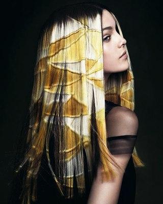 рисунки на волосах: фото 36